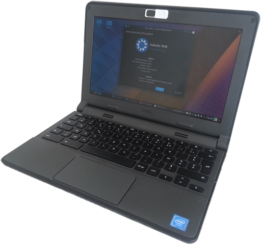 Linux on Dell Chromebook 11